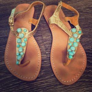 588d0748798d Women s Mystique Turquoise Sandals on Poshmark